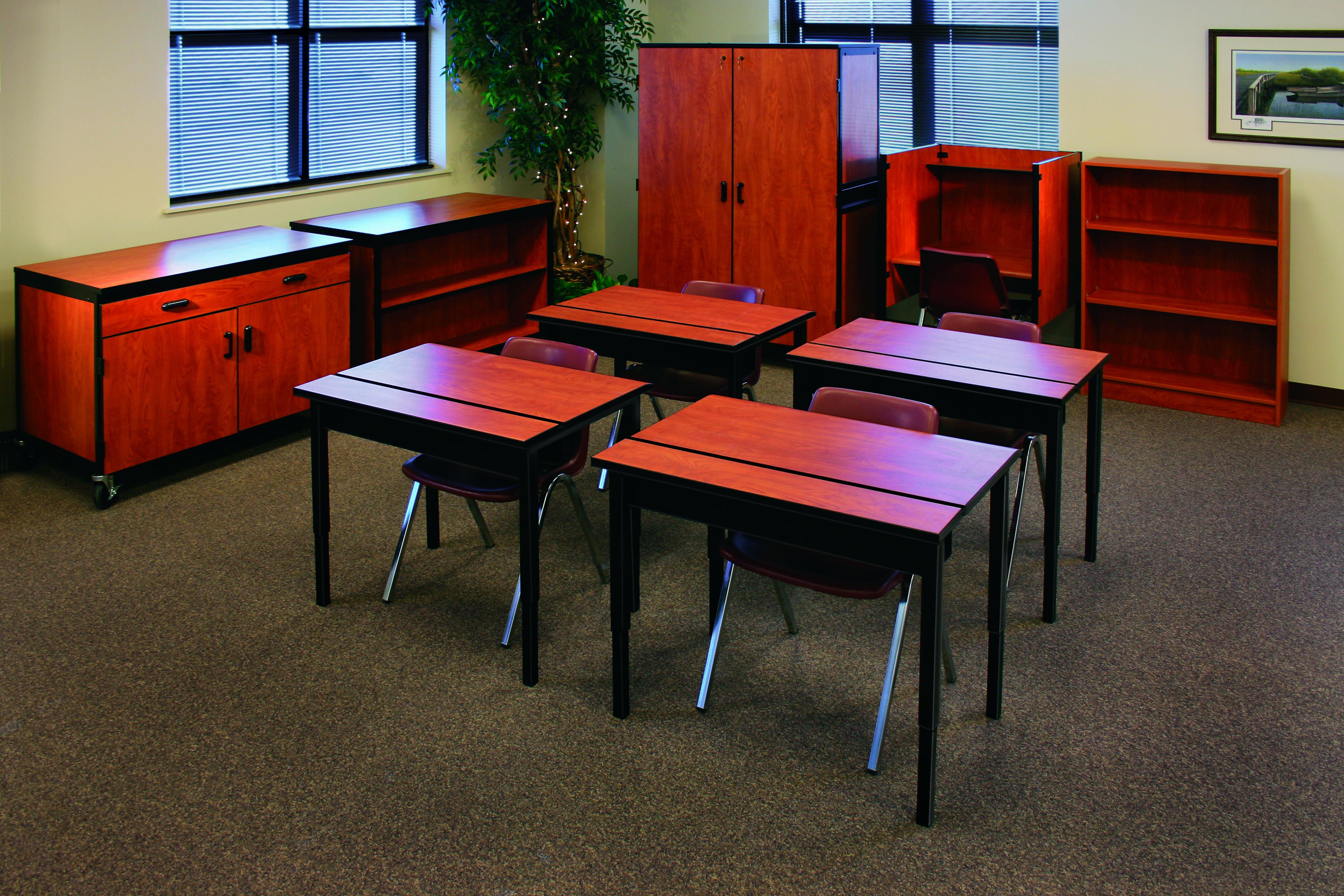 Corilam Educational Classroom Setting