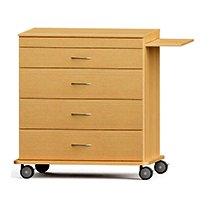 CFC Healthcare 350-1010 4 Drawer Cart