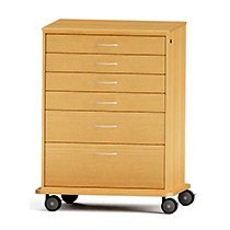CFC Healthcare 350-1020 6 Drawer Cart