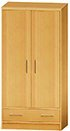 CFC Healthcare 407-0610 Monaco Door Drawer Wardrobe