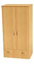 CFC Healthcare 408-0610 Double Wardrobe 1 Drawer